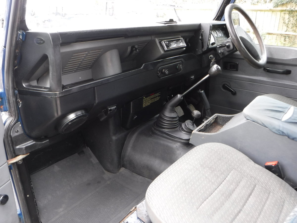 1998 Land Rover Defender 90 2.5 TDi Hard Top  For Sale (picture 6 of 6)