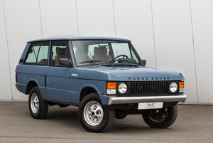 Range Rover Classic 2 Door 2.4 TD Manual (Suffix-A styling)