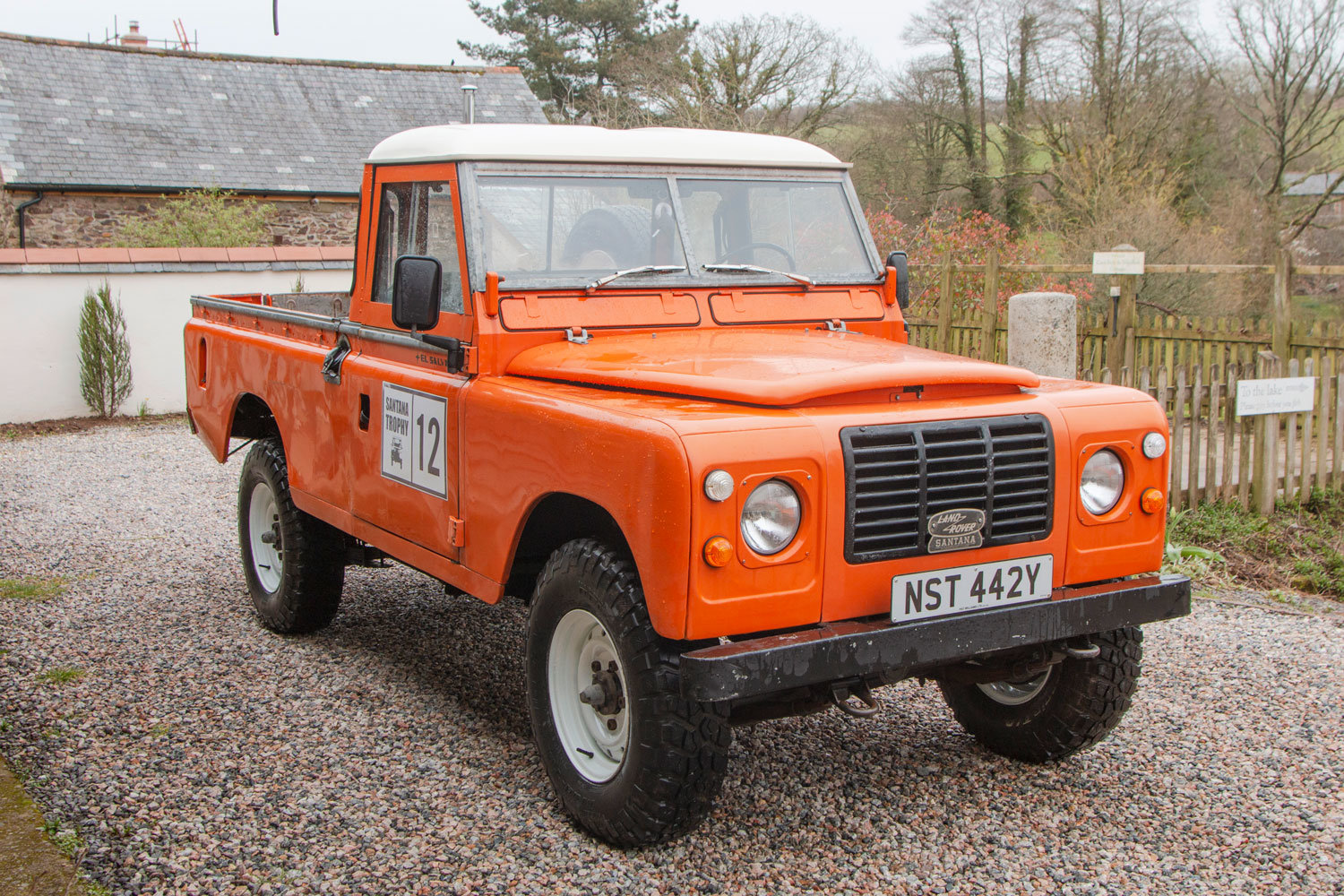 1982 Land Rover Santana 109 6 Cyl Diesel LHD For Sale (picture 1 of 6)