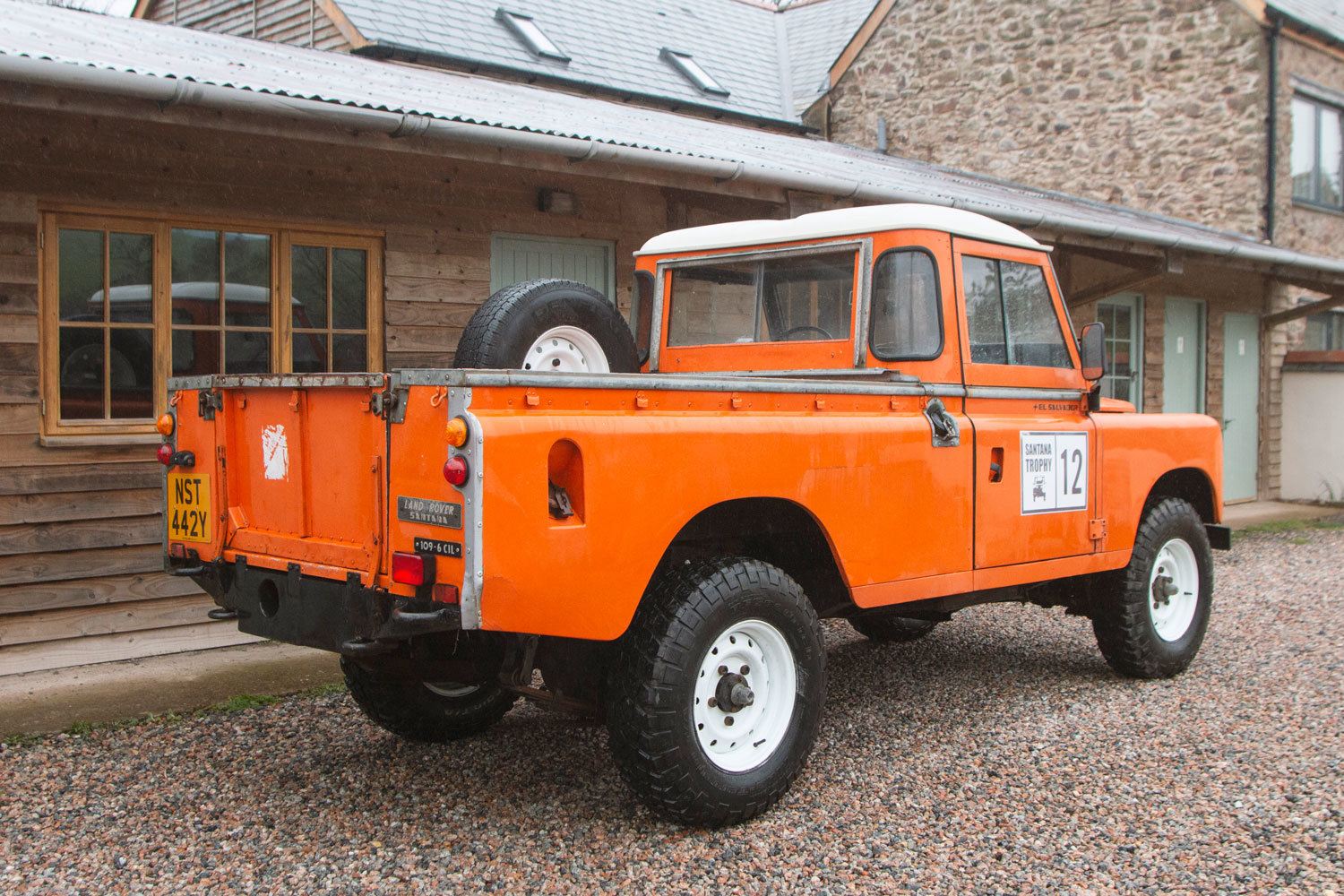 1982 Land Rover Santana 109 6 Cyl Diesel LHD For Sale (picture 3 of 6)