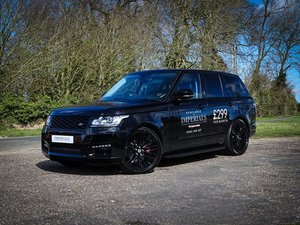 Land Rover  RANGE ROVER  3.0 SDV6 VOGUE SE 2015 MODEL TAYLOR
