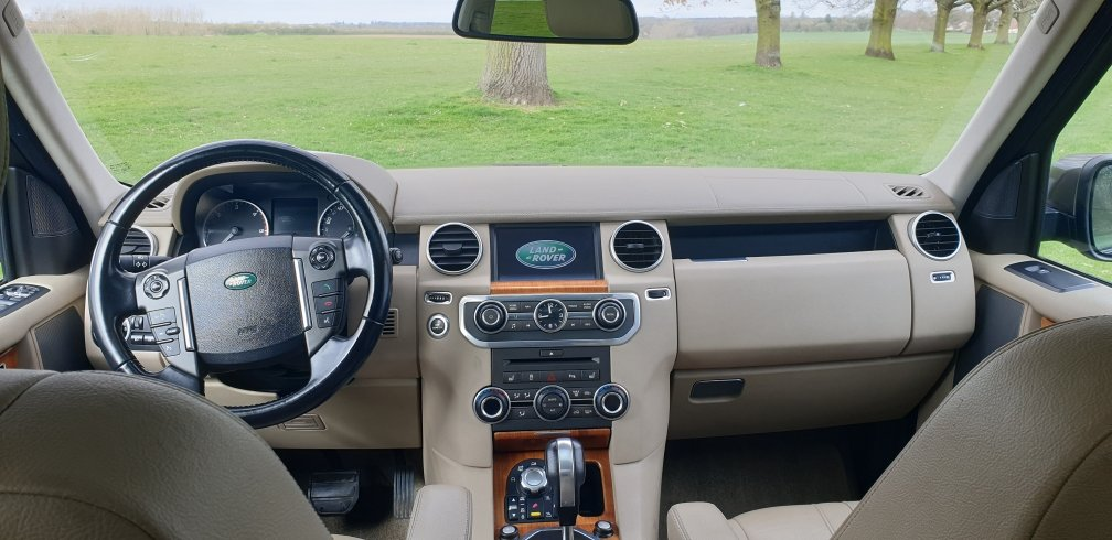 2011 LHD Land Rover Discovery 4, 3.0SDV6 4X4,LEFT HAND DRIVE For Sale (picture 5 of 6)
