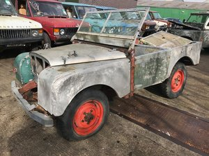 Picture of 1950 Land Rover Series One 80'' LBG. SOLD