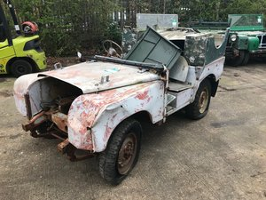 1950 Land Rover Series One 80'' LBG For Sale