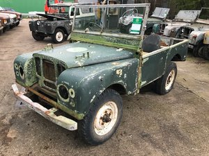 1950 Land Rover Series One 80'' LBG.  Total restoration proj For Sale