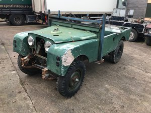 1958 Land Rover Series One 80'' LTG. For Sale