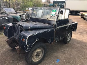 1953 Land Rover Series One 80'' Left Hand Drive For Sale