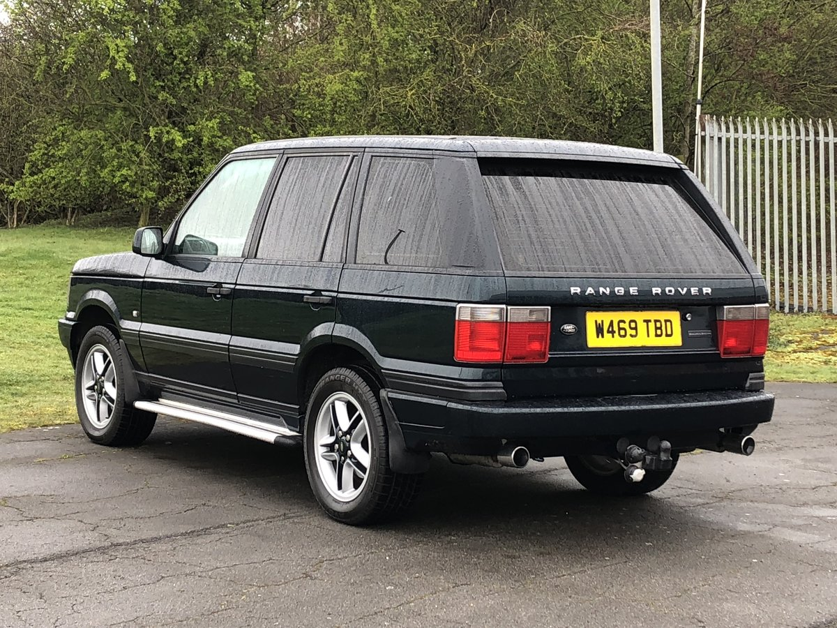 2000 Range Rover Holland & Holland 4.6 HSE For Sale (picture 2 of 6)