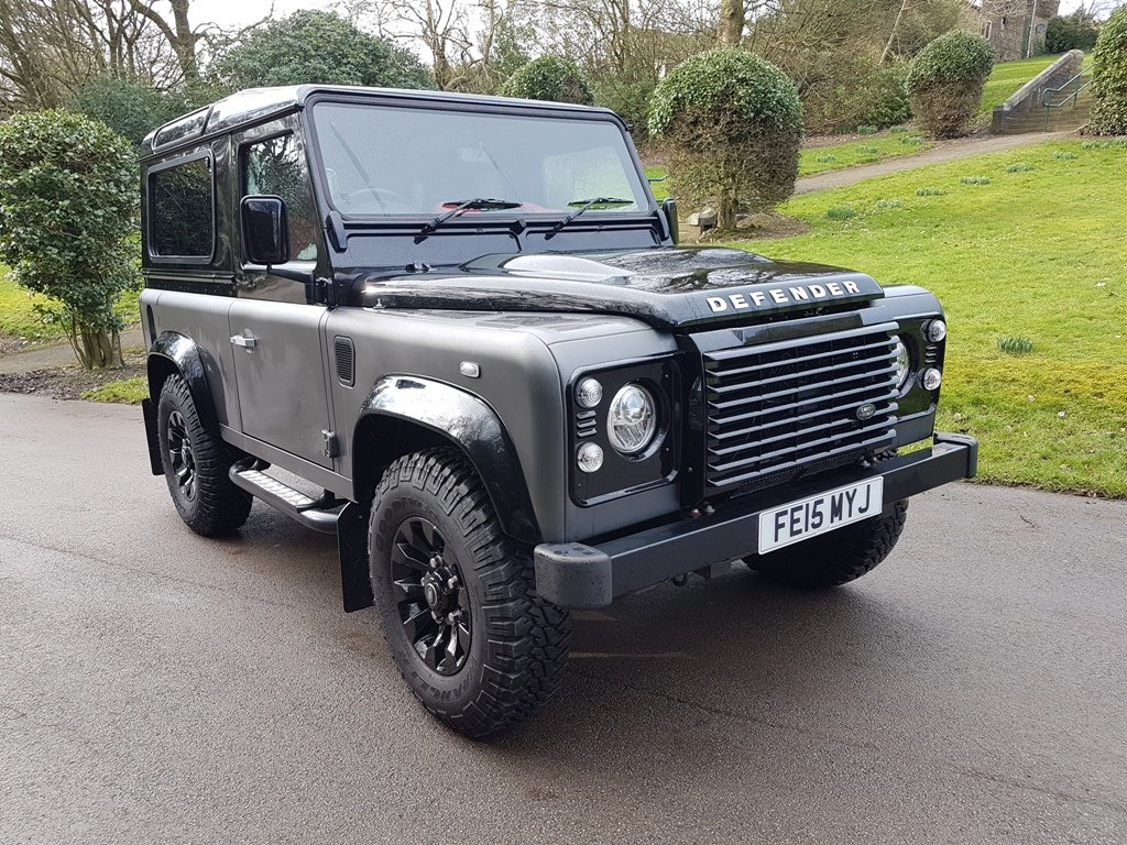 2015 LAND ROVER DEFENDER 90 TDCI AUTOBIOGRAPHY COUNTY STATIO For Sale (picture 1 of 6)