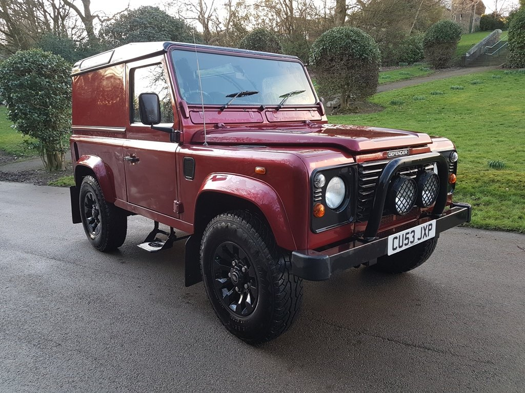 2003 2004 LAND ROVER DEFENDER 90 TD5 COUNTY For Sale (picture 1 of 6)