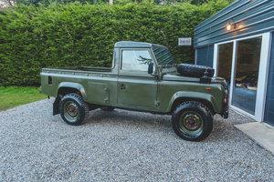 Ex-MOD Land Rover Defender Pickup V8