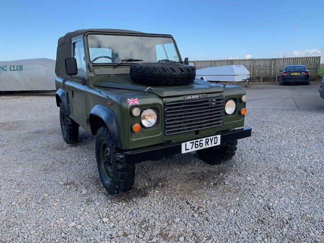 1993 Land Rover® 90 *Galvanised Bulkhead Rebuild* (RYD) For Sale (picture 1 of 6)