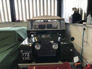 Land Rover Series 1  S.W.B, Canvas Tilt Roof