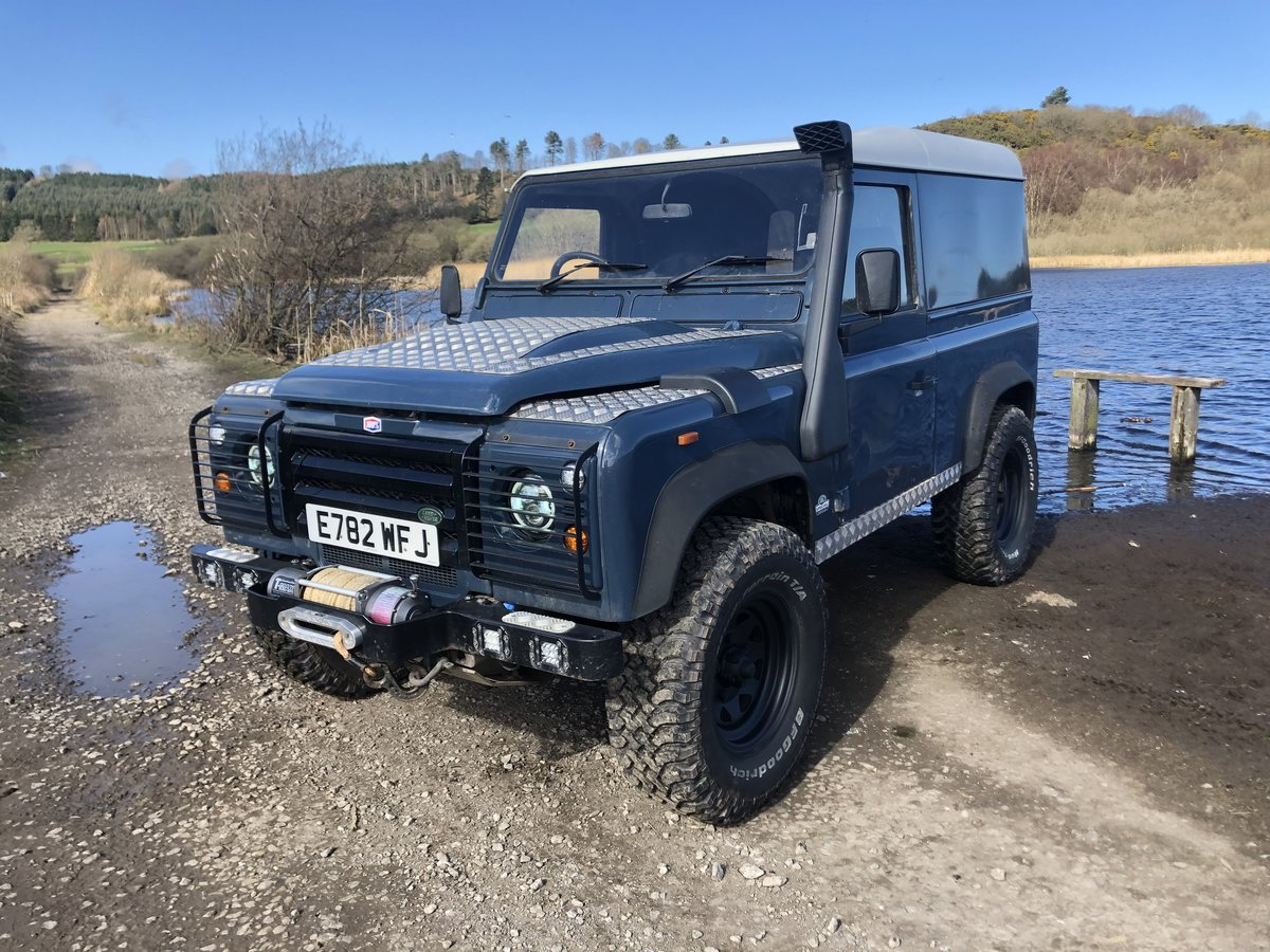 1987 Land Rover Defender 90 hardtop rebuilt on galvanised chassis For Sale (picture 1 of 6)