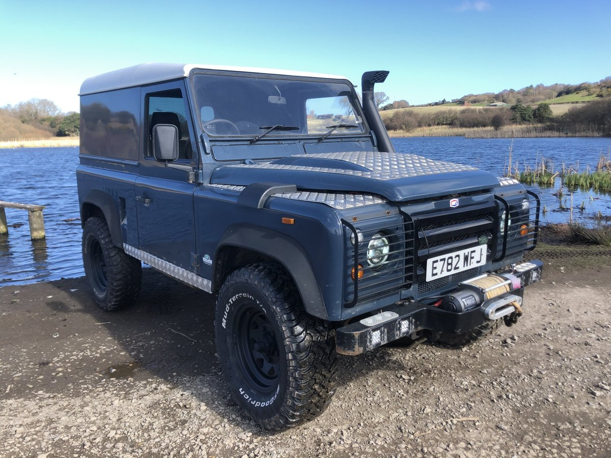 1987 Land Rover Defender 90 hardtop rebuilt on galvanised chassis For Sale (picture 2 of 6)