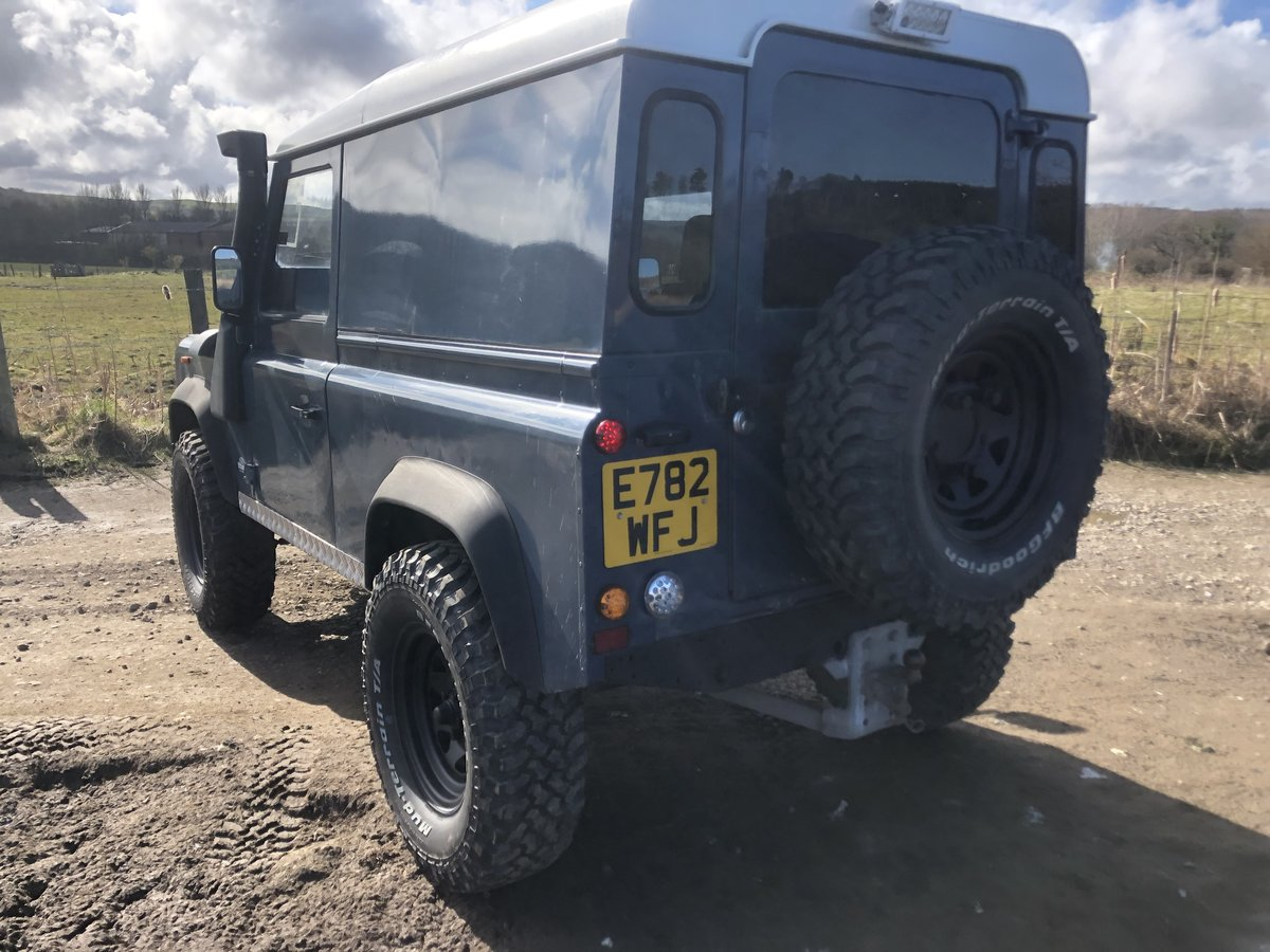 1987 Land Rover Defender 90 hardtop rebuilt on galvanised chassis For Sale (picture 3 of 6)