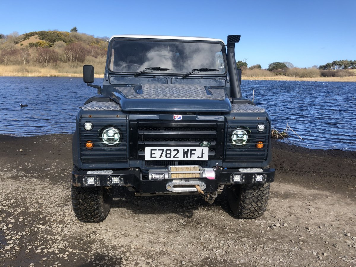 1987 Land Rover Defender 90 hardtop rebuilt on galvanised chassis For Sale (picture 4 of 6)