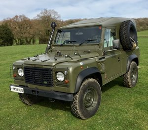 Land Rover Defender Wolf SWB