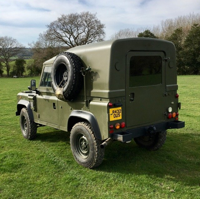 1998 Land Rover Defender Wolf SWB SOLD (picture 3 of 6)