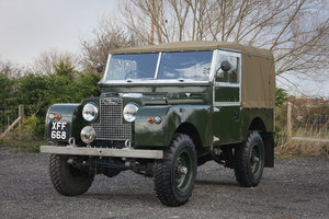 "1958 Land Rover Series 1 88"" 3.5 V8 Restoration  SOLD"