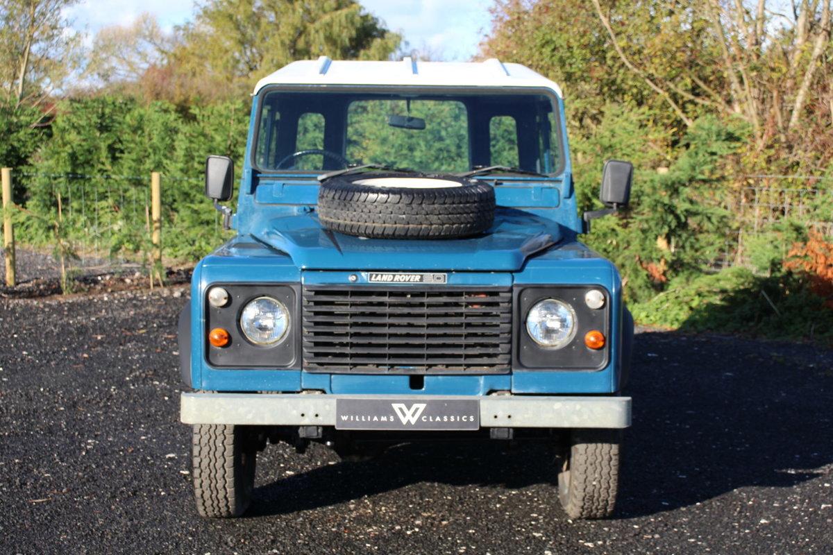 Land Rover 90 1986 Defender Hardtop Original 65,000 Miles For Sale (picture 3 of 6)