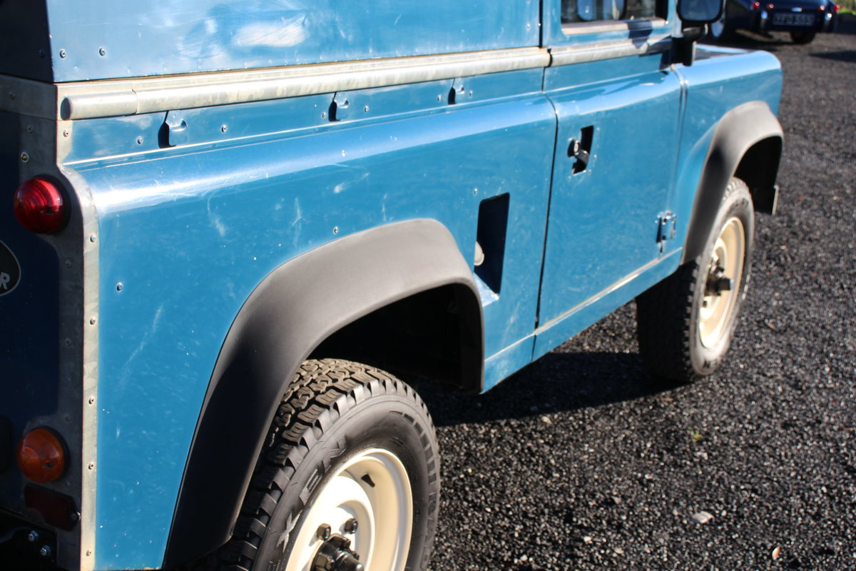 Land Rover 90 1986 Defender Hardtop Original 65,000 Miles For Sale (picture 5 of 6)