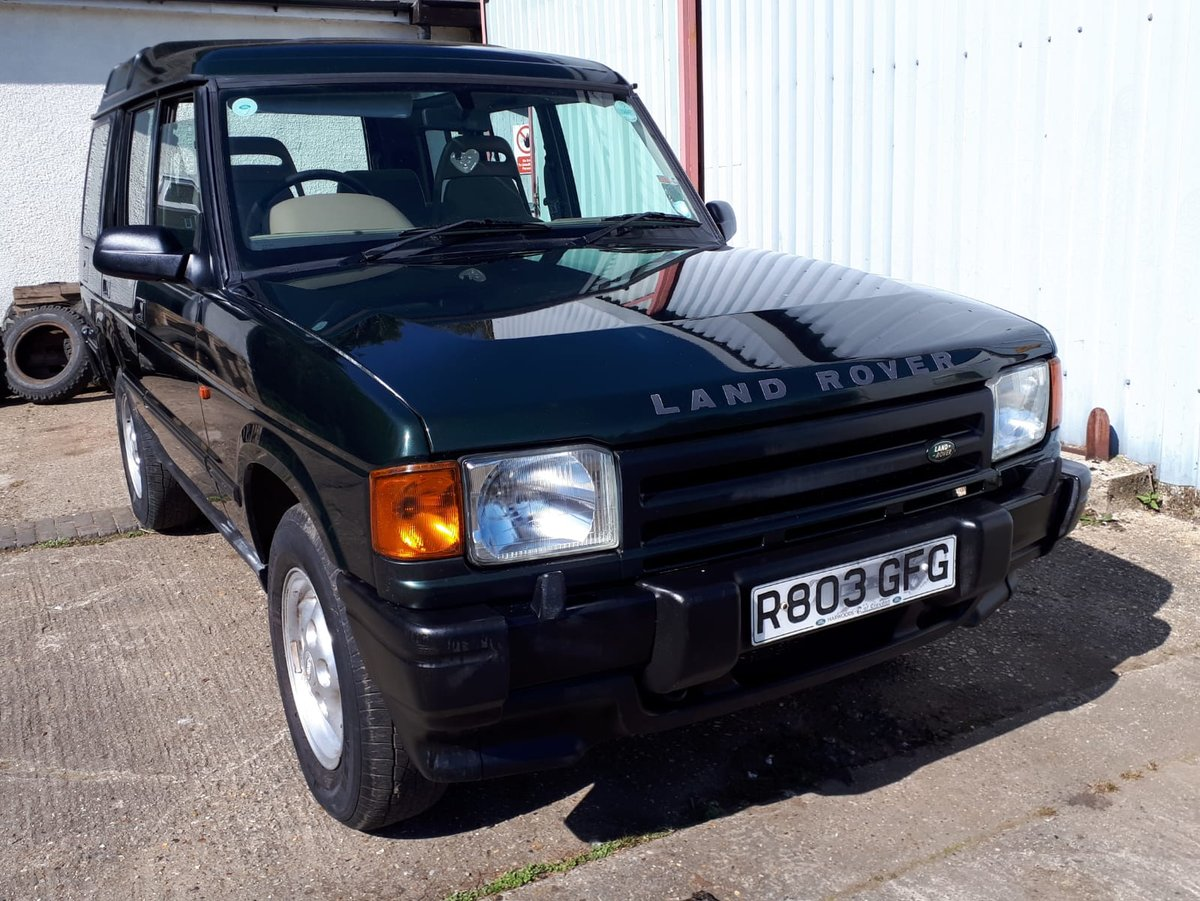 1997 Landrover Discovery 300tdi ** LOW MILEAGE ** Manual For Sale (picture 1 of 6)