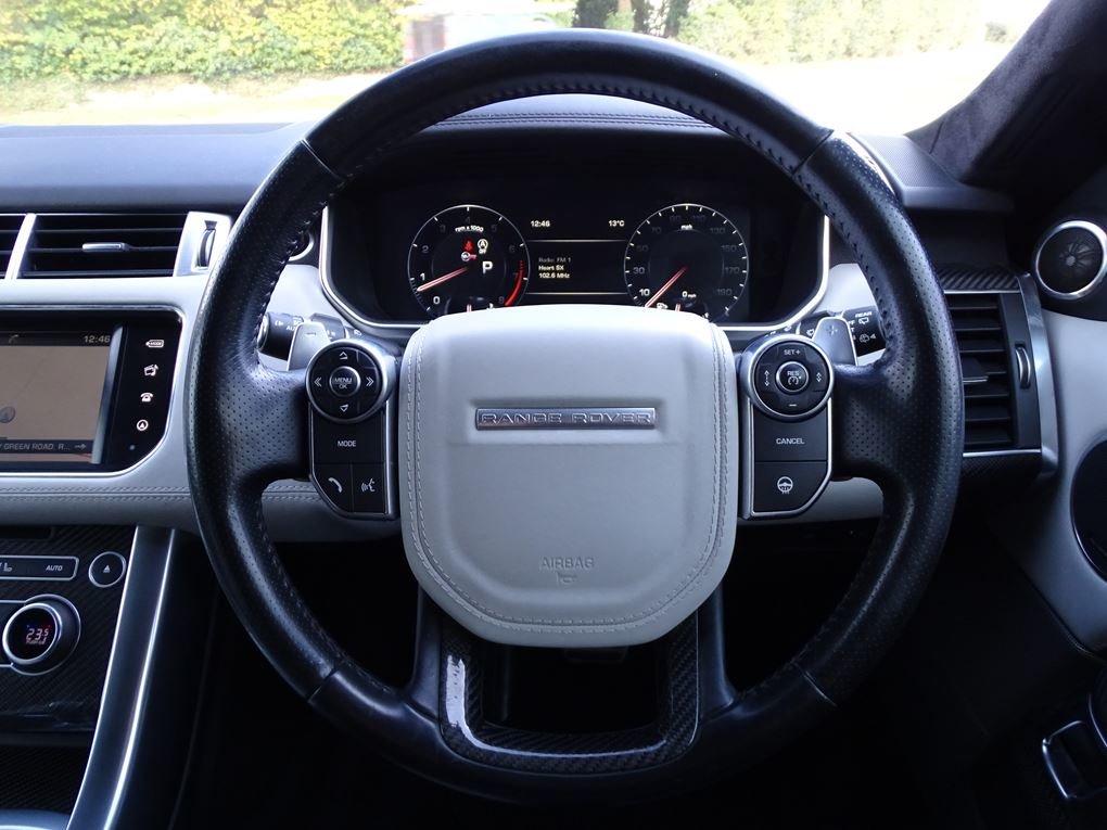 2016 Land Rover  RANGE ROVER SPORT  SVR 5.0 V8 SUPERCHARGED 8 SPE For Sale (picture 8 of 24)
