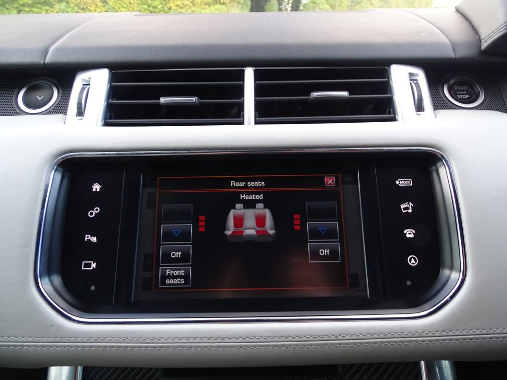 2016 Land Rover  RANGE ROVER SPORT  SVR 5.0 V8 SUPERCHARGED 8 SPE For Sale (picture 20 of 24)