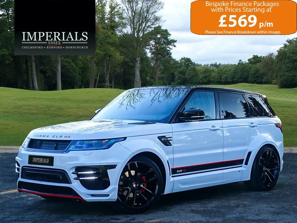 2019 Land Rover  RANGE ROVER SPORT  3.0 SDV6 HSE WITH FULL LUMMA  For Sale (picture 1 of 24)