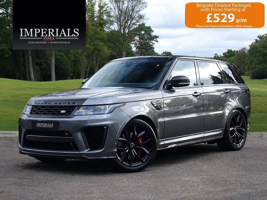 2019 Land Rover  RANGE ROVER SPORT  SVR 5.0 V8 SUPERCHARGED 575 B For Sale (picture 1 of 24)