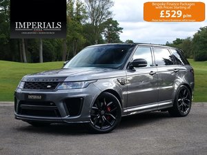 2019 Land Rover  RANGE ROVER SPORT  SVR 5.0 V8 SUPERCHARGED 575 B For Sale