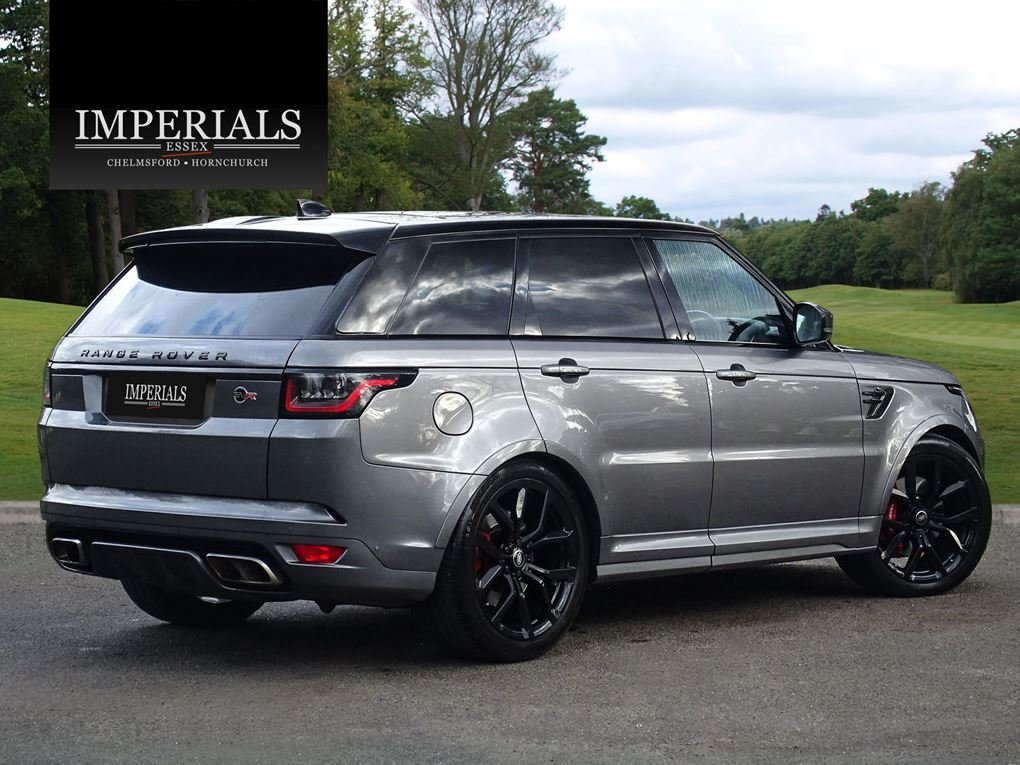 2019 Land Rover  RANGE ROVER SPORT  SVR 5.0 V8 SUPERCHARGED 575 B For Sale (picture 4 of 24)