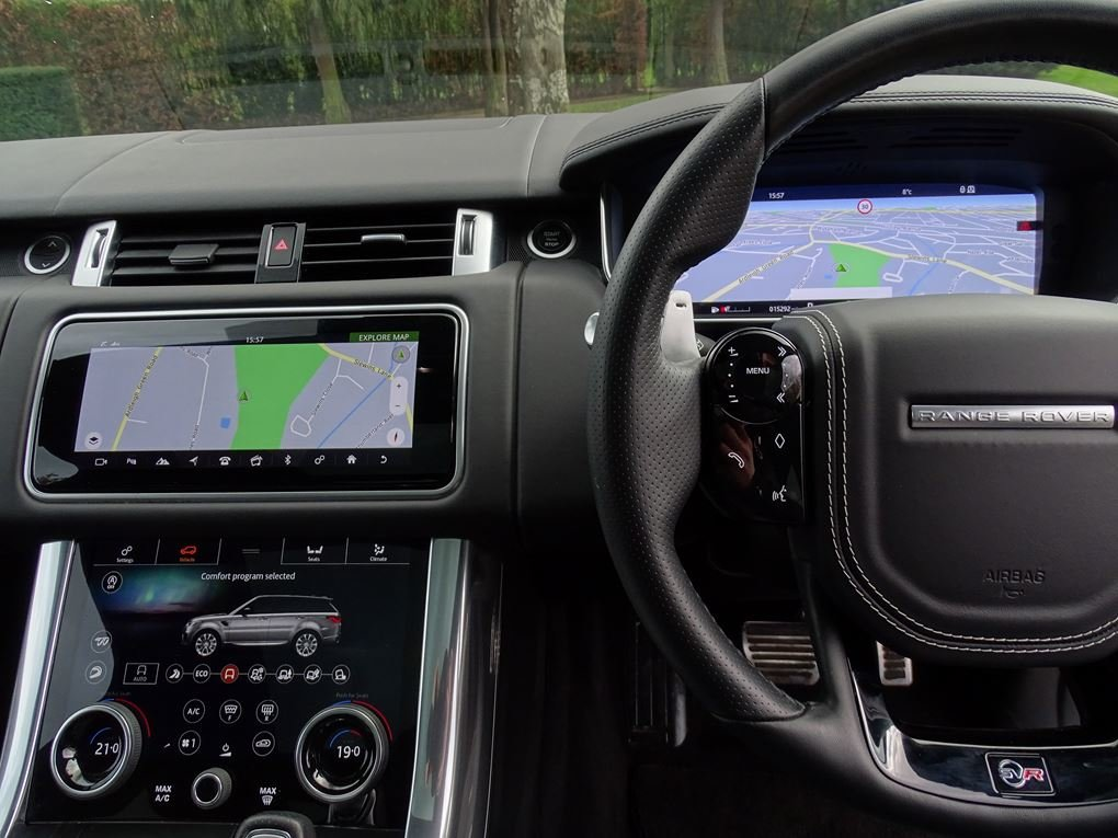 2019 Land Rover  RANGE ROVER SPORT  SVR 5.0 V8 SUPERCHARGED 575 B For Sale (picture 8 of 24)