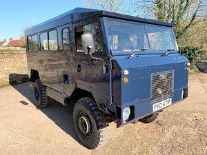 superb 1976 land rover 101FC gunbus/shooting bus conversion