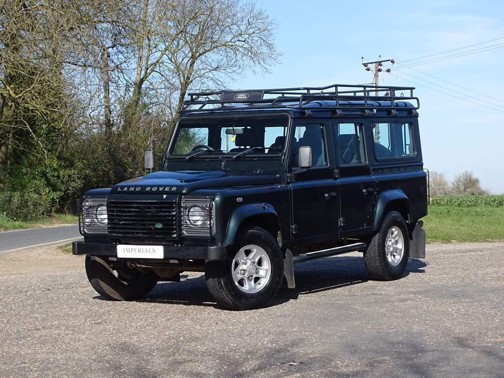 2009 Land Rover  DEFENDER  110 XS STATION WAGON  22,948 For Sale (picture 1 of 18)
