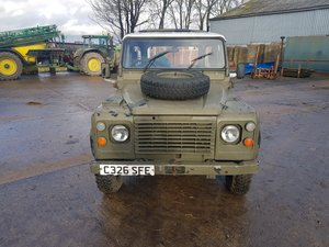 LAND ROVER 110 SOFT TOP + PICK UP HARD TOP #108