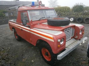 Land rover series 3 109 rare fire truck - 4 cyl #1