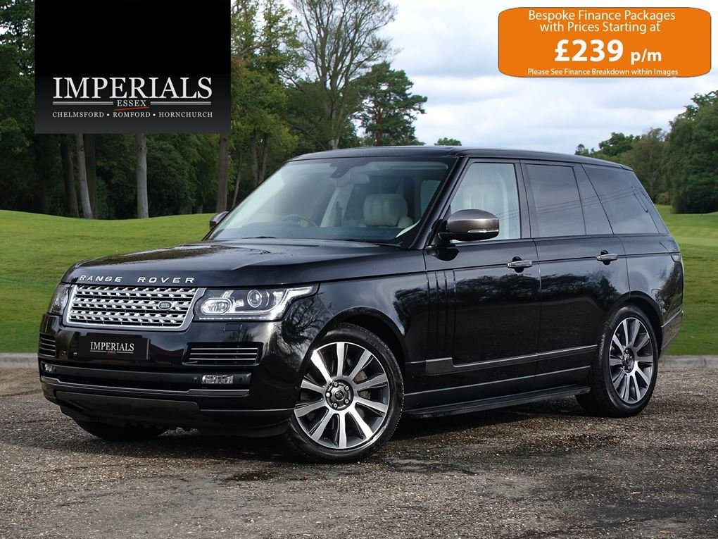 2013 Land Rover  RANGE ROVER  4.4 SDV8 AUTOBIOGRAPHY WITH EXECUTI For Sale (picture 1 of 24)