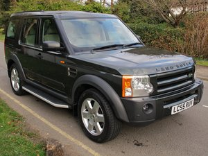 LAND ROVER DISCOVERY 3 HSE 2005/55 1 FAMILY OWNED 55300m FSH SOLD