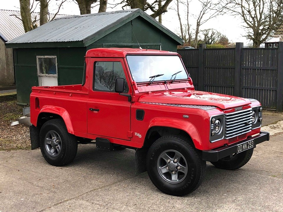 2000 Land Rover Defender 90 TD5 County Bespoke For Sale (picture 4 of 6)