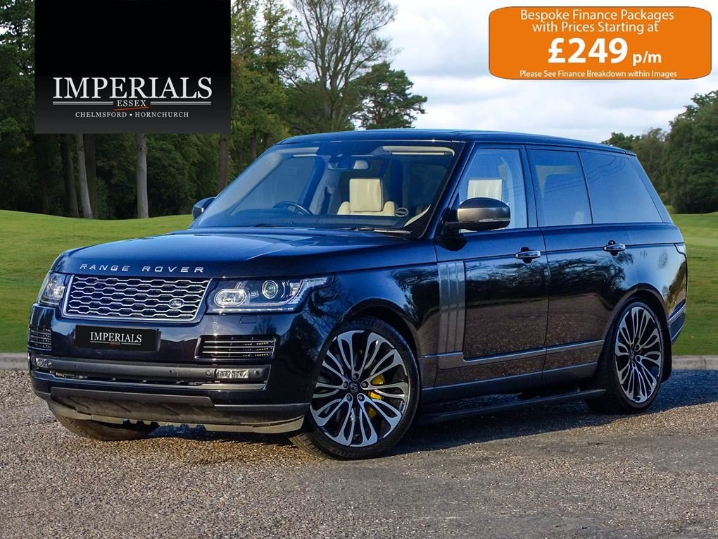2014 Land Rover  RANGE ROVER  4.4 SDV8 AUTOBIOGRAPHY 8 SPEED AUTO For Sale (picture 1 of 24)