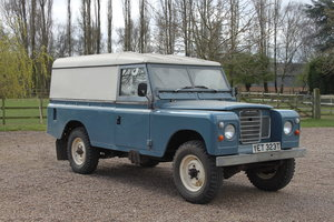 1978 Land Rover Series 3 1 owner and only 38000 miles.