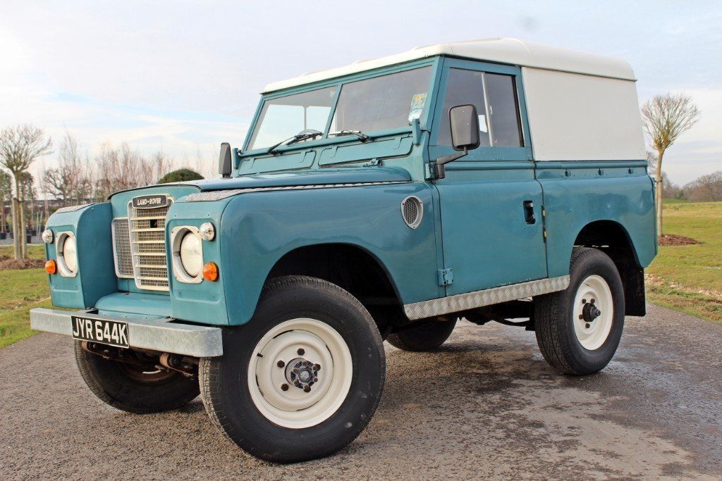 1972 Land Rover Series 3 200 Tdi For Sale (picture 2 of 10)