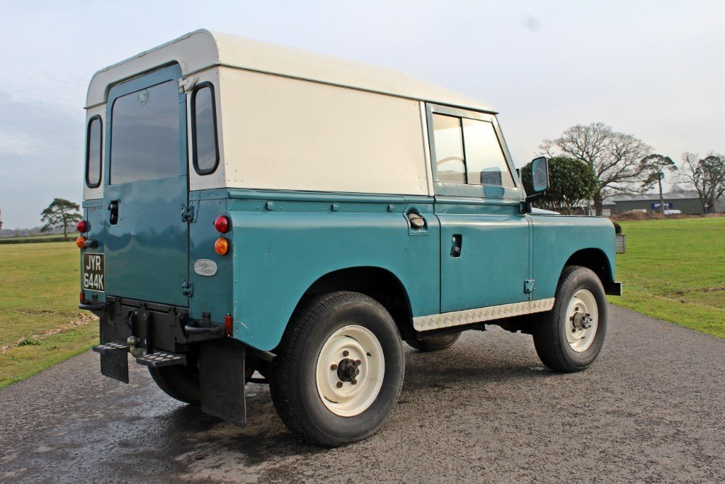 1972 Land Rover Series 3 200 Tdi For Sale (picture 6 of 10)