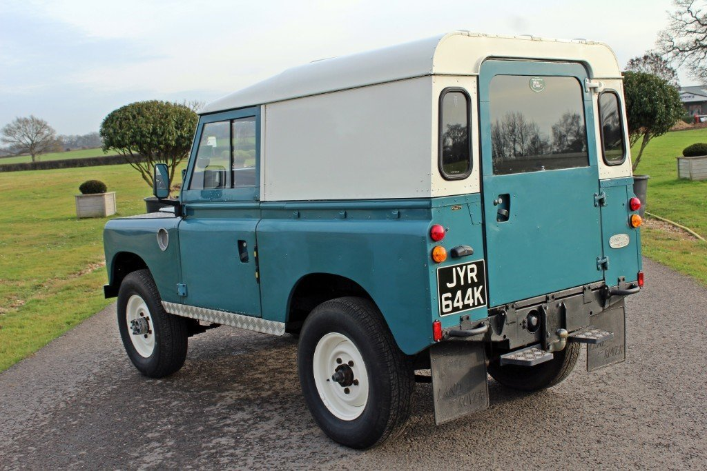 1972 Land Rover Series 3 200 Tdi For Sale (picture 8 of 10)