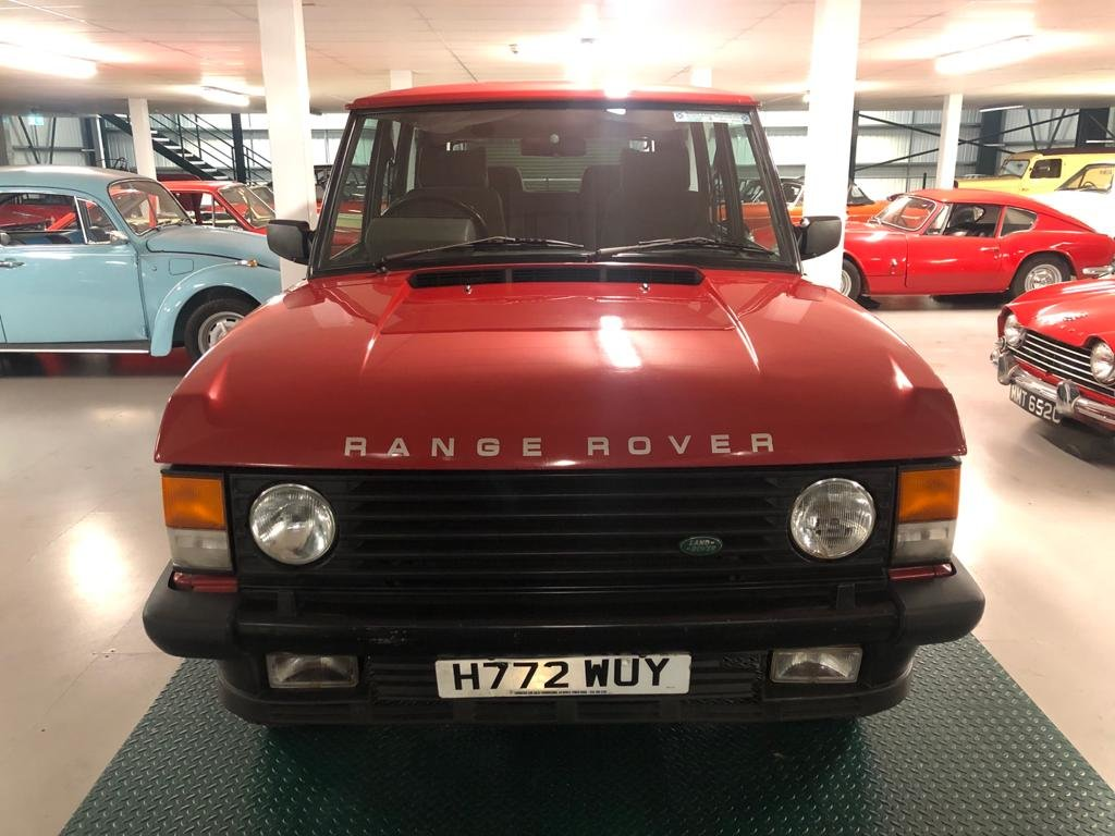1991 Land Rover Range Rover Vogue 3.9 EFi Automatic For Sale (picture 2 of 6)