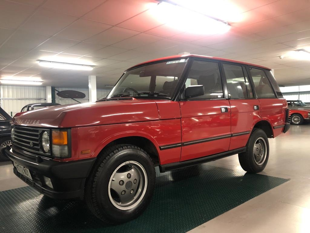 1991 Land Rover Range Rover Vogue 3.9 EFi Automatic For Sale (picture 3 of 6)