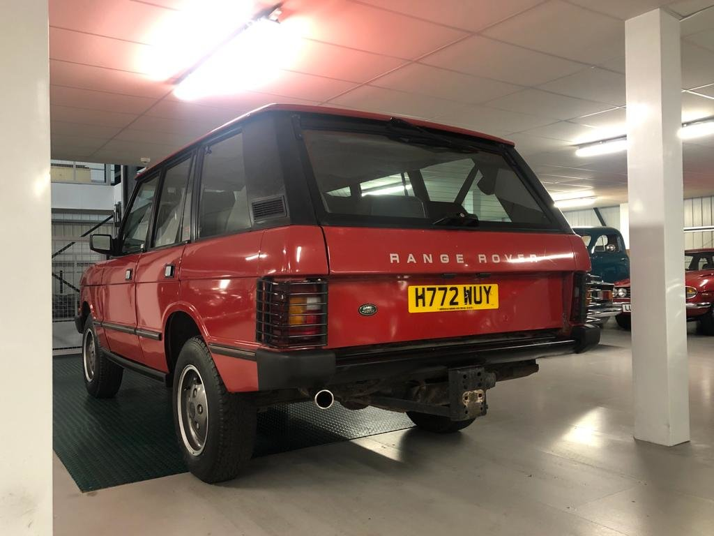 1991 Land Rover Range Rover Vogue 3.9 EFi Automatic For Sale (picture 4 of 6)