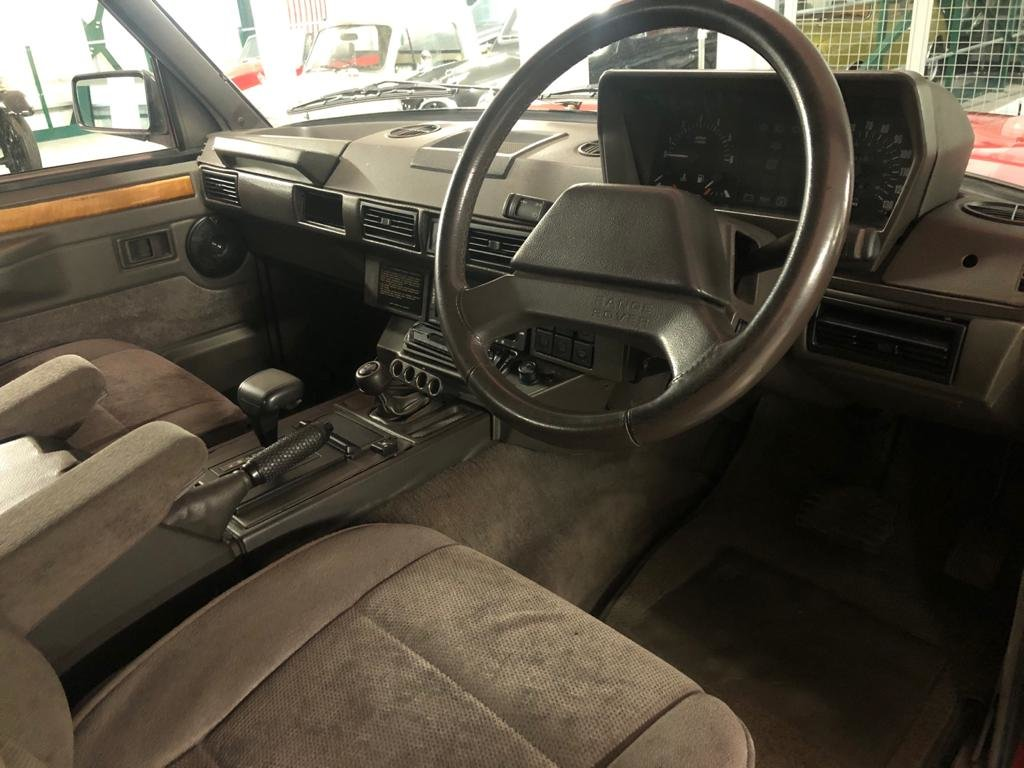 1991 Land Rover Range Rover Vogue 3.9 EFi Automatic For Sale (picture 5 of 6)